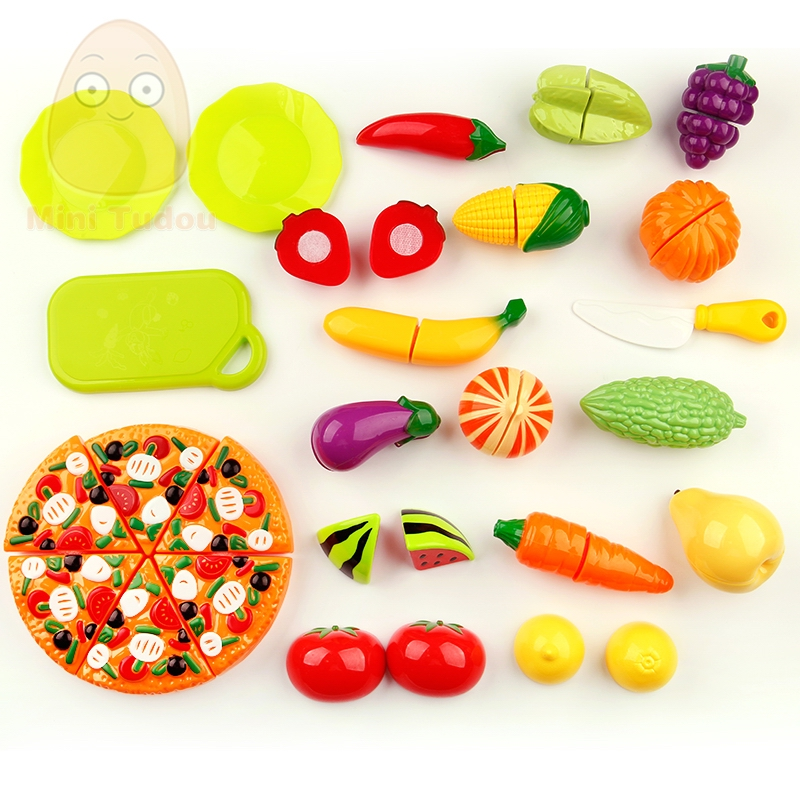 MiniTudou-Colorful-Miniature-Food-Cut-Vegetables-Toy-25PCS-Olastic-Fruit-Food-Toys-For-Girls-Kitchen-Pretend-Play-Set-For-Kids-4