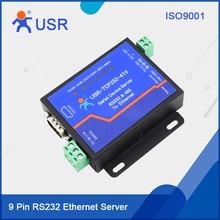 USR-TCP232-419 9 Pin RS232 Serial RS485 Ethernet Server DTR DSR