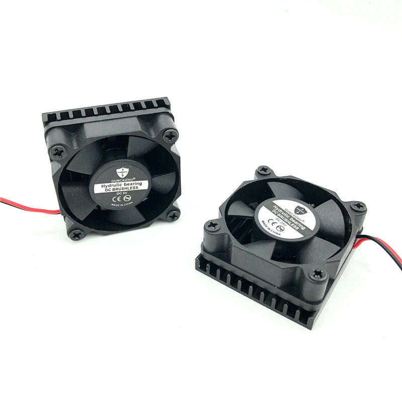 Best Silent 3510 Fan With Aluminium Cooler Heatsink 24V 12V 5V Fluid Bearing 35mm Brushless Cooling Fan 35x35x10MM