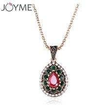 Модное Брендовое ожерелье с подвеской в стиле бохо тибетское