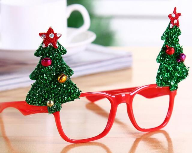 Us 393 3 10 Off New Year Favor Christmas Glasses Santa Claus Snowman Eyeglasses Frame Goggle Spectacles Party Fancy Dress Costume Accessory Gift In