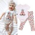 Nova Roupa Do Bebê Set Bebê Recém-nascido Menina Sunsuit Bodysuit Macacão Floral Outfits Roupas