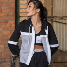 Chu Yoga Cotton poly training Set Sports Top and Pant for Women sets Running Jacket New