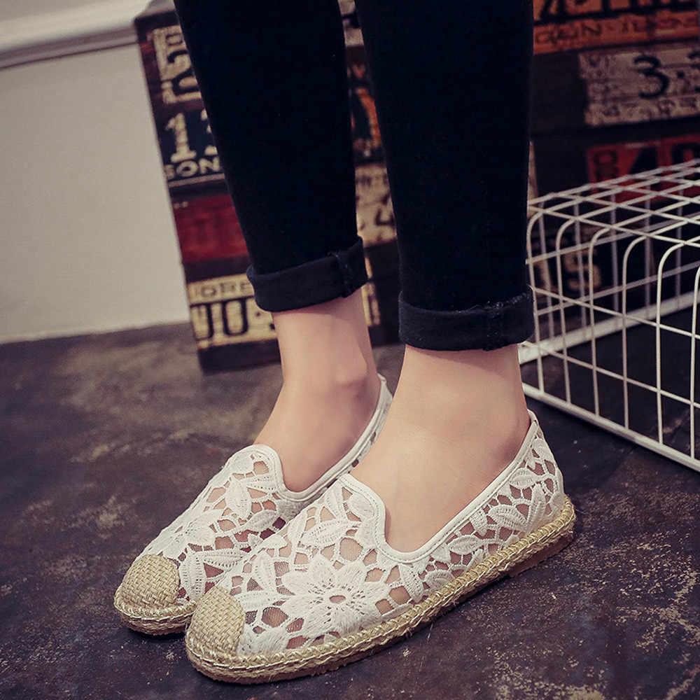 รองเท้าผ้าใบสตรี coloral ผู้ใหญ่ trainers ฤดูร้อนสีขาวรองเท้าผู้หญิงน่ารักสุภาพสตรีกับรองเท้าส้นสูงสีดำ # H3