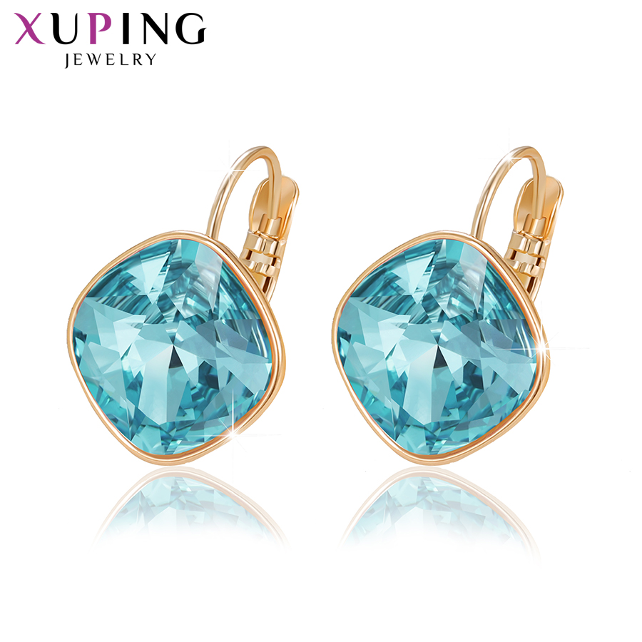 4482ce814 Xuping Jewelry Hoop Earrings Crystals from Swarovski Party Temperament  Mother's Day Gift Women Girls ...