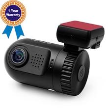 Камера автомобиля Автомобильный Видеорегистратор Даш Камеры DVR HD mini 0801 Ambarella A2 Чип детектор С GPS Кронштейн и 16 ГБ TF Карта DVR Автомобиля Cam