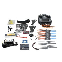 DIY Kit RC Drone Quadrocopter ARF X4M360L Frame Kit with GPS APM2.8 AT10 Transmitter Receiver