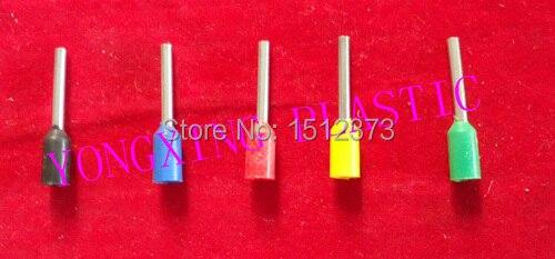ФОТО 1000pcs/lot E0306 Insulated tube terminal block