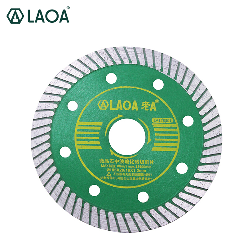 LAOA Ceramic File Cutting Disc Marble Saw Vitreous China Cutter Professional Diamond Saw Blade