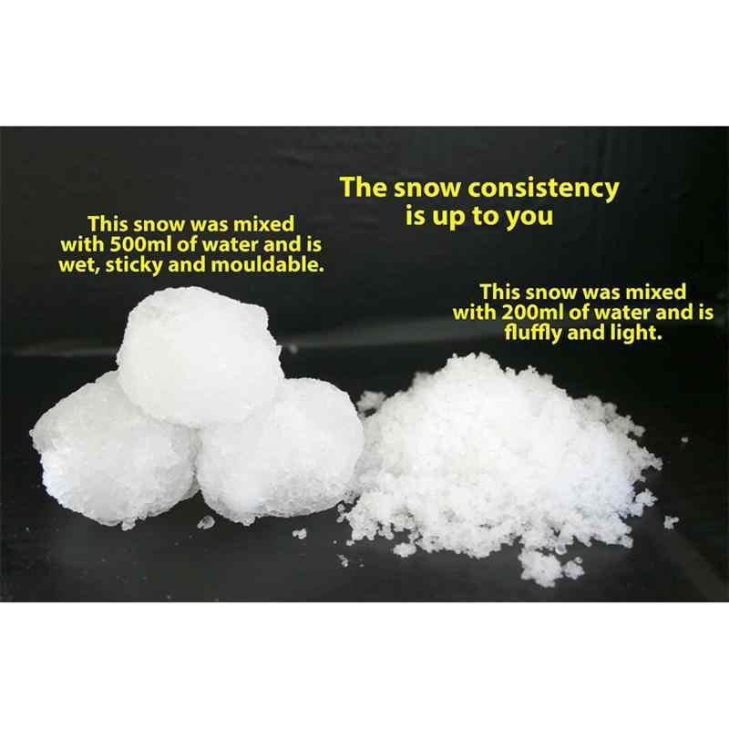 10 шт порошок белый искусственный снег слизь лучший слизь облако слизь Замороженные дни рождения выглядит как настоящий снег для Рождественского украшения