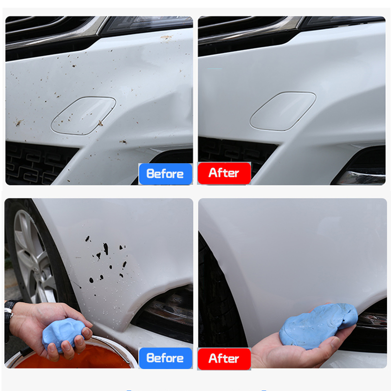 Car Motorclcle Washer Clay Bar Cleaning Auto Blue Clay For Car Truck Cleaning Detailing For Cars Car Styling Cleaning Tools Less Expensive Car Wash Accessories