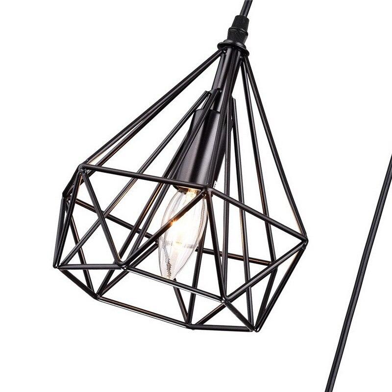 Luminária de teto rústica industrial vintage de
