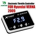 Автомобильный электронный контроллер дроссельной заслонки гоночный ускоритель мощный усилитель для Hyundai VERNA 2009 Тюнинг Запчасти аксессуар