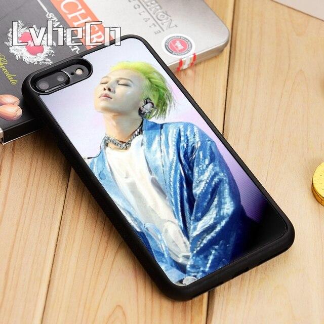 LvheCn G DRAGON BIGBANG GD Kwon Ji Yong Phone Case Cover For iPhone 5 5s SE 6 6s 7 8 10 X Samsung Galaxy S6 S7 edge S8 S9 plus