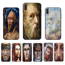 IMIDO funny Picture in picture Soft silicone phone case for iphone X Xs Xr max  6 7 8 5 6s/7/8/6plus 5s 6s se TPU shell cover