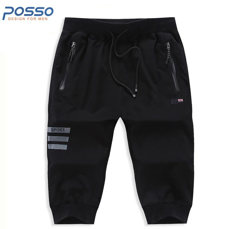 Men jogger pants casual cotton sweatpants men sweat short pants baggy shorts drawstring trousers joggers bottom