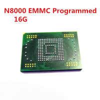 1 pz per samsung N7000 N8000 P5100 P6800 N5100 N8010 P5110 P3100 emmc memoria flash NAND con il firmware per samsung