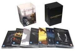 Game of Thrones Season 1 2 3 4 5 6 7 ( 34 DVD Discs ) English Box Set