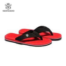 NEEDBO Beach Flip Flops Men Slippers Shoes Comfortable Men's Sandals Casual Summer Hotsal Shoes Good Quality Brand Shoes Men
