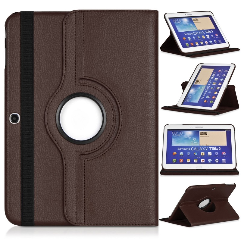Caso magnética para Samsung Galaxy TAB 3 10.1 Folio Capa de Couro Pu Tab 3 10.1 P5200 GT-P5200 P5210 P5220 Stand inteligente Tablet Capa