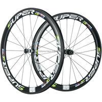 2017 neue Design Superteam 50mm Carbon Räder Drahtreifen Rennrad Laufradsatz Mit DT 350 Hub Sapim Speichen Rad Set-in Fahrrad-Rad aus Sport und Unterhaltung bei