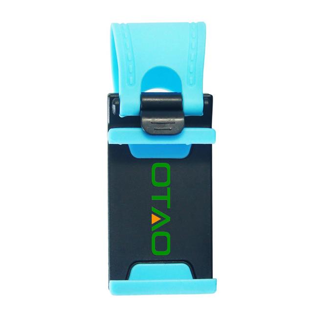 Uniwersalny Uchwyt Samochodowy Kierownica Rower Klip Góra Uchwyt Gumka Dla iPhone Do Samsung Dla Lenovo Telefonu komórkowego Uchwyt 4