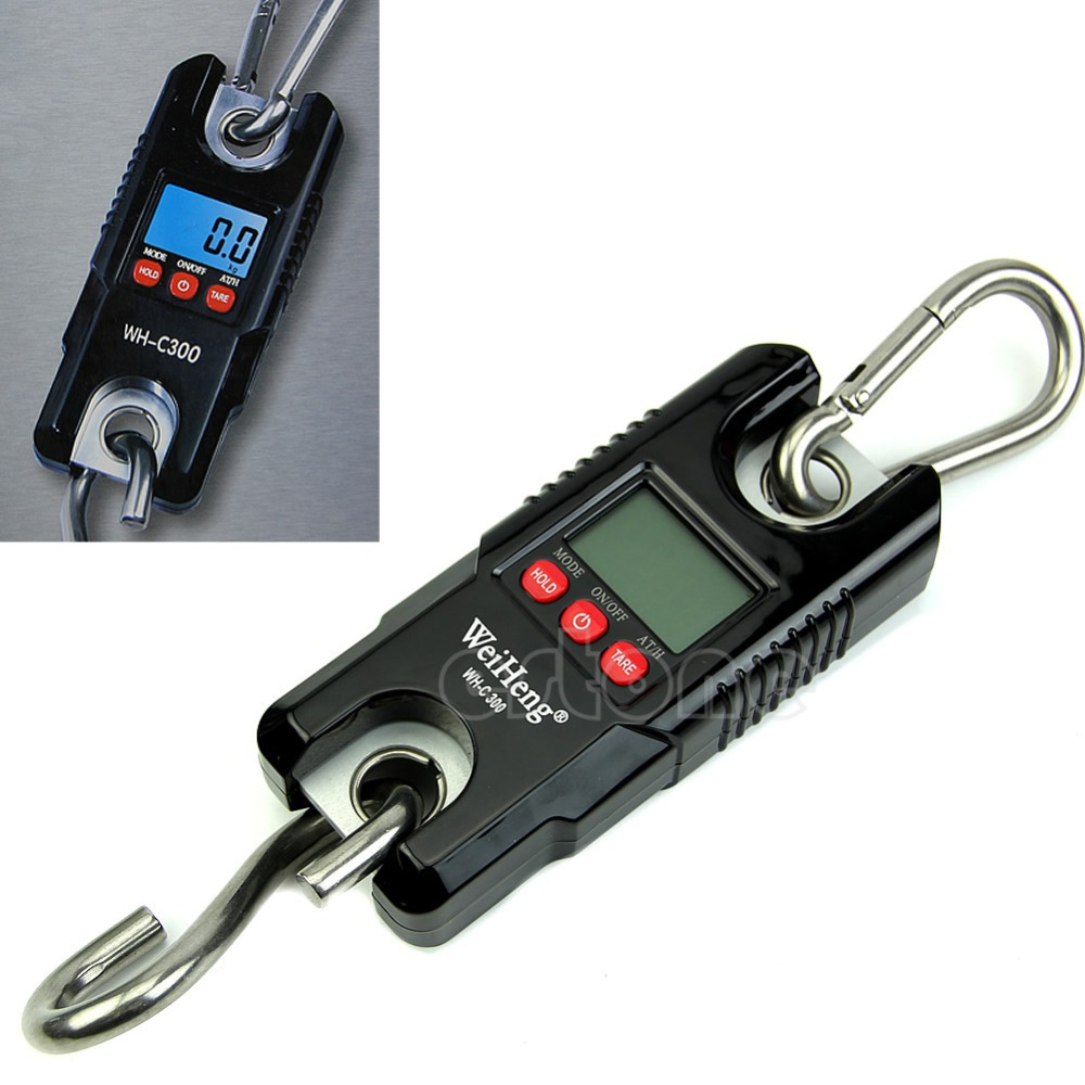ФОТО New 300Kg/100g Crane Weight Scale Digital Electronic Heavy Duty Hanging Scale