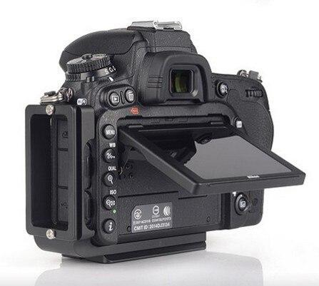 FITTEST L-D750R Custom L Bracket/L Plate for Nikon D750 Body Arca-Swiss Ball head RRS Lever Clamp Compatible штатив для фотокамеры laitu f6dl g l canon 6d arca rrs br ru 011