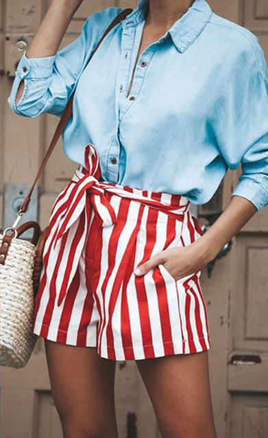 Cotton Seshes Low Waist Shorts 1