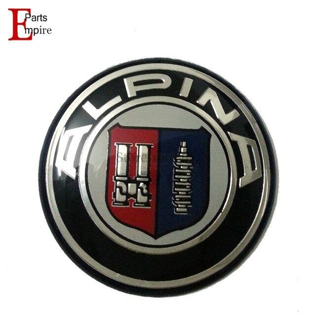 2733f9044e1f 20pcs lot 45mm Car Steering Wheel Badge Logo for BMW ALPINA Logo Car  Accessories Emblem for BMW E39 E60 E62 E82 X1 M3 M5 Etc.