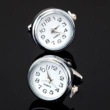 Free shipping, new fashion function electronic watch cufflinks senior designer,