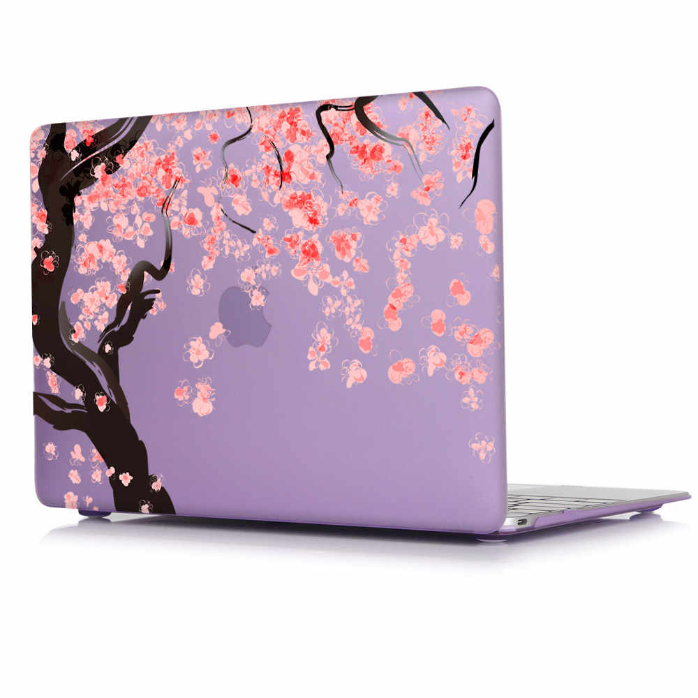 7a3127ca944c Japan Cherry blossoms pink beautiful printed Case For New Apple MacBook Pro  13 15 with Retina Mac Air 11.6 12 13.3 inch cover