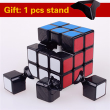 57mm shengshou 3x3x3 puzzle stiker kecepatan sihir kubus mainan klasik profesional untuk anak-anak