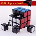 Shengshou 3x3x3 magic speed cube pvc adesivo bloco puzzle aprendizagem & educational cubo magico profissional clássico brinquedos cubo
