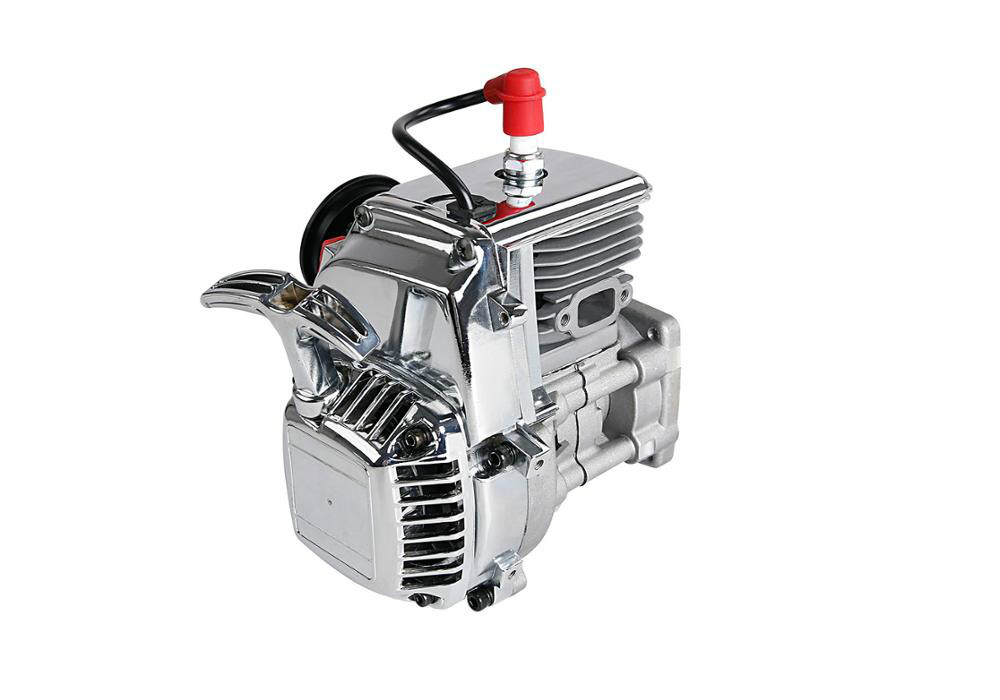 36CC 4 Bolts Chrome Engine For 1/5 Hpi Rovan Km Baja 5b 5t 5sc Ss Losi 5t Mcd FG GoPed RedCat RC CAR PARTS
