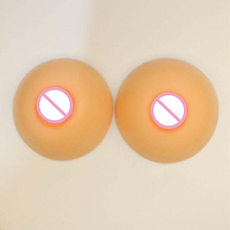 где купить Round Shape 300G-800/Pair Realistic Artificial Silicone Breast Form False Boob Enhancer Sexy Bust Tit Chest For Crossdresser по лучшей цене