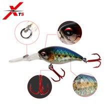 XTS Crankbaits Crank Bait Minnow Fishing Lure Floating Topwater Wobblers 5cm 10.5g Hard Artificial Jerkbait 3507