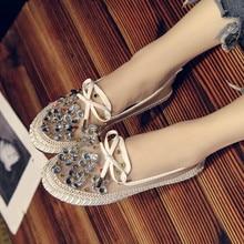 купить Summer Breathable Sandals Women Mesh Flats Outdoor Slippers Girl Footwear Beach Walking Shoes Ladies Crystal  Fisherman дешево