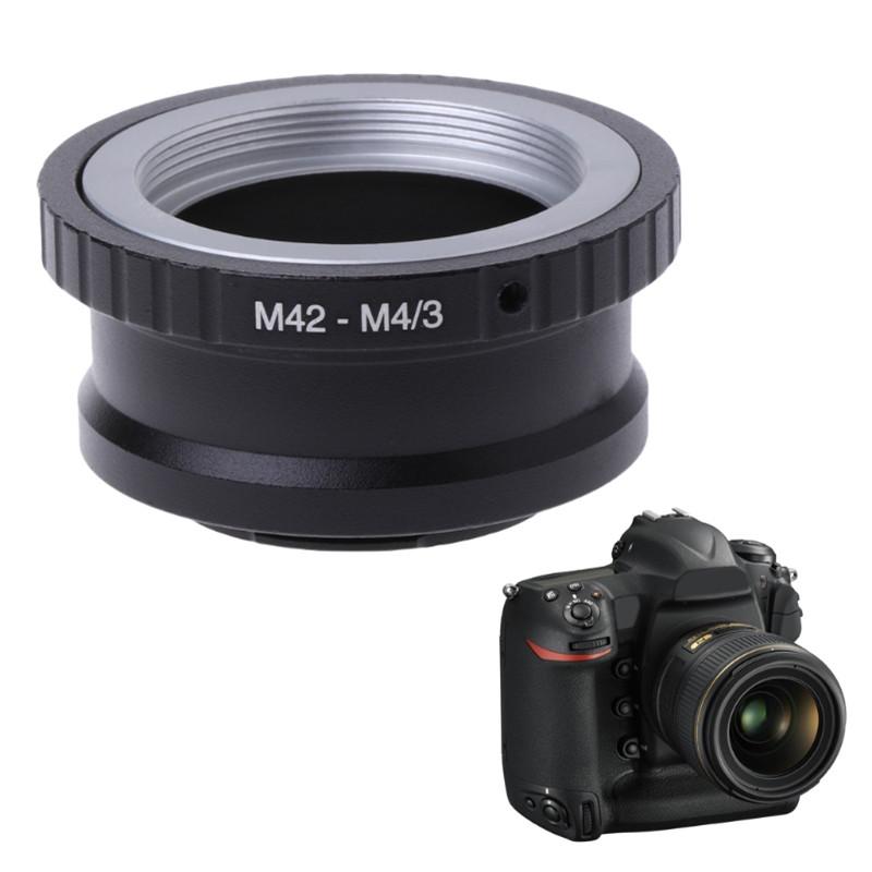 SIV <font><b>M42</b></font> Lens to Micro 4/3 <font><b>M4/3</b></font> Adapter Ring for Panasonic G1 GH1 Olympus E-P1 EP-2 image