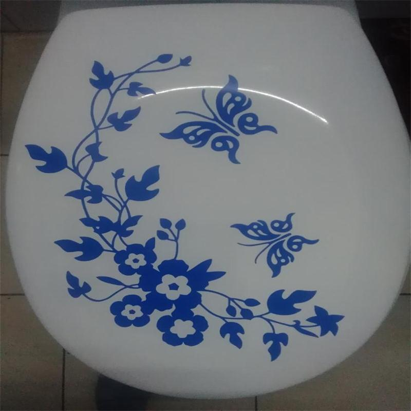 Decorative Butterfly Toilet Stickers 5