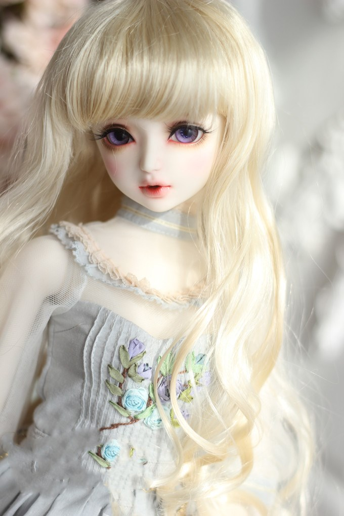 Top quality 1/3 1/4 1/6 1/8 Elegant Wave Long Hair SD BJD Doll Wigs ...