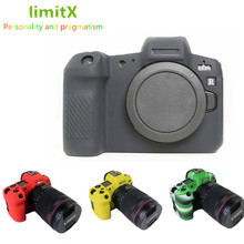 MỚI Dẻo Silicone Giáp Lưng Da Cơ Thể Bao Da Bảo Vệ cho Canon EOS R Mirrorless Digital Camera