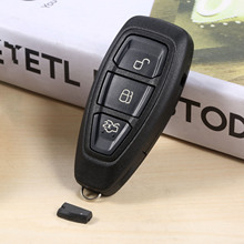 Remote Key 3 Buttons 434MHz ID83 4D63 Uncut Blade For Ford B/C/S-Max Fiesta Focus Mondeo Galaxy Kuga KR55WK48801