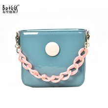 Candy Colors Women Messenger Bags Luxury Handbags Women Bags Designer Jelly Bag Fashion Shoulder Bag Women PU Leather Handbags brand women messenger bags luxury handbags women bags designer velvet fashion shoulder bag women pu leather handbags chain h