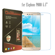 Elephone P8000 Tempered Glass 100% Official Original Screen Protector Film Phone Case for Elephone P8000 in Stock Free Shipping
