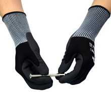 6 Pairs High Flex Oil and Gas Glove Gardening Safety Nitrile Foam Abrasion Resistant Work Gloves