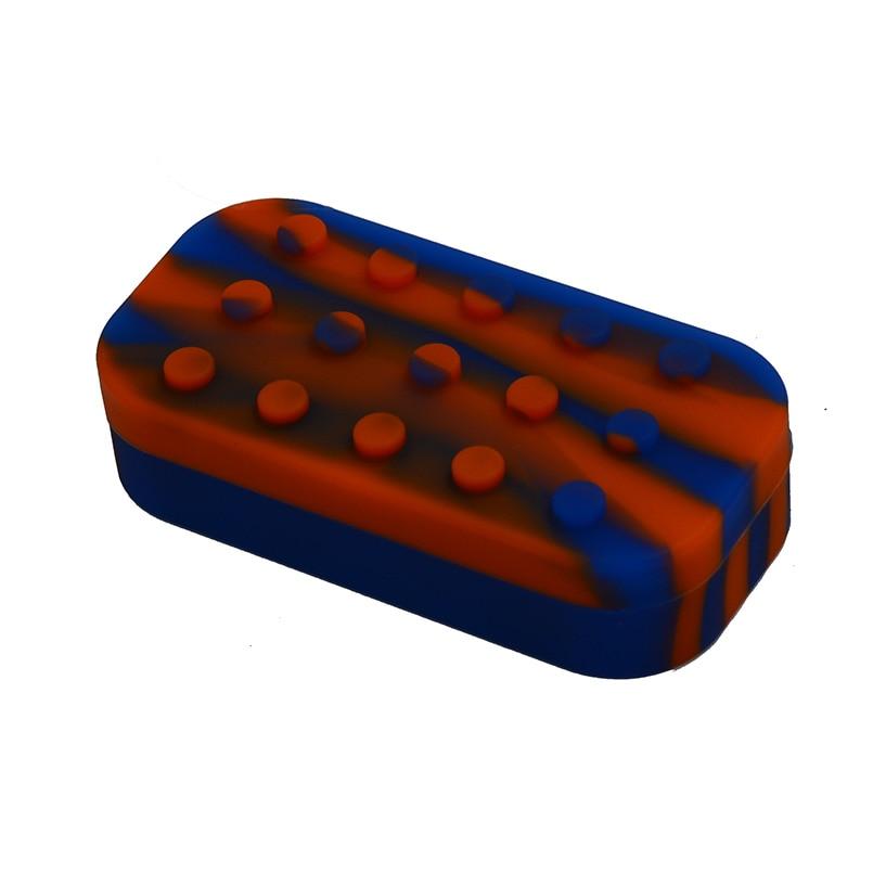 7 in 1 Non-stick Lego Rubber siliconen wax / butaan olie-container en - Home opslag en organisatie - Foto 6