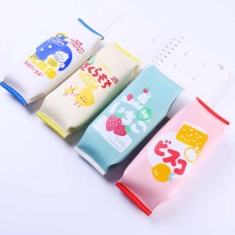1 Pcs Kawaii Pencil Case Candy Snack Gift Estuches School Pencil Box Pencilcase Pencil Bag School Supplies Stationery