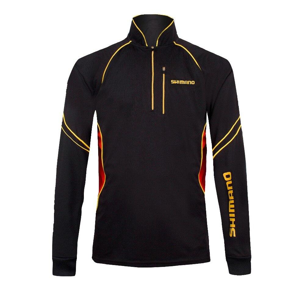 New shimano fishing shirt 2017 men fishing clothing quick for Men s fishing apparel