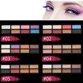 Multicolor smoky eyeshadow palette naked paleta de brilho sombra de olho maquiagem nude maquiagem cor de terra à prova d' água 8 cores beleza